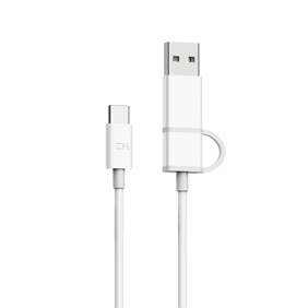 Кабель 2in1 USB/Type-C/Type-C Xiaomi ZMI 100см (AL311)